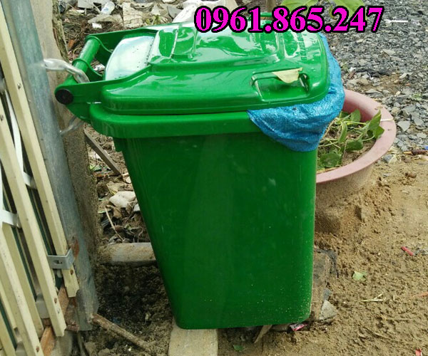 Thùng rác công cộng 60 lít