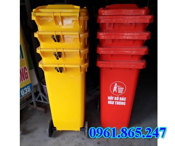 Thùng rác y tế màu vàng giá rẻ