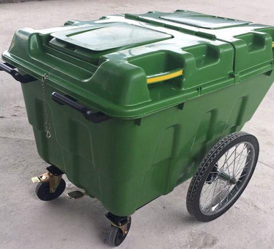 Xe đẩy rác nhựa giá rẻ nhất