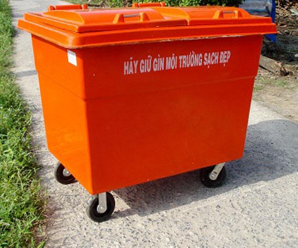 Thùng rác composite 1000l