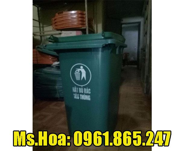 Thùng rác cũ 120 lít