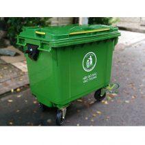 Thùng rác công cộng 660 lít giá rẻ