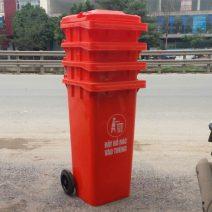 Thùng rác màu đỏ giá rẻ nhất