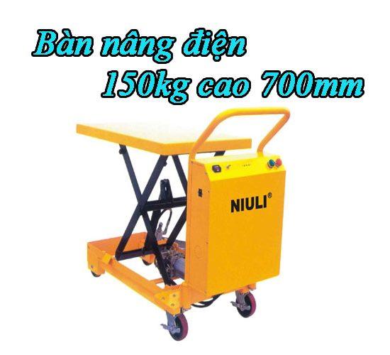 Bàn nâng điện 150kg giá rẻ