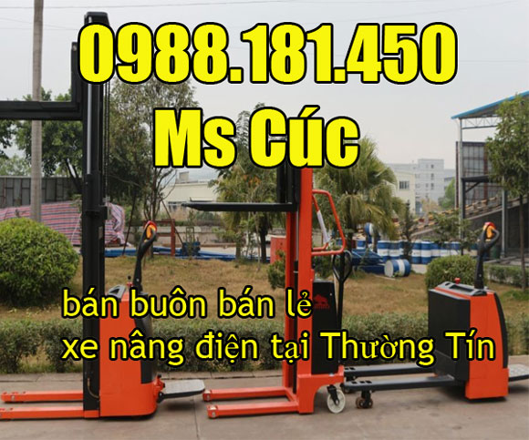 địa chỉ bán xe nâng điện tại Thường Tín