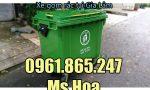Xe gom rác tại Gia Lâm