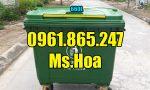 Thùng rác nhựa 660l hdpe